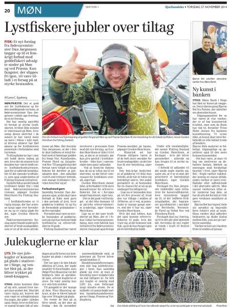 Sjællandske, 27. november 2014