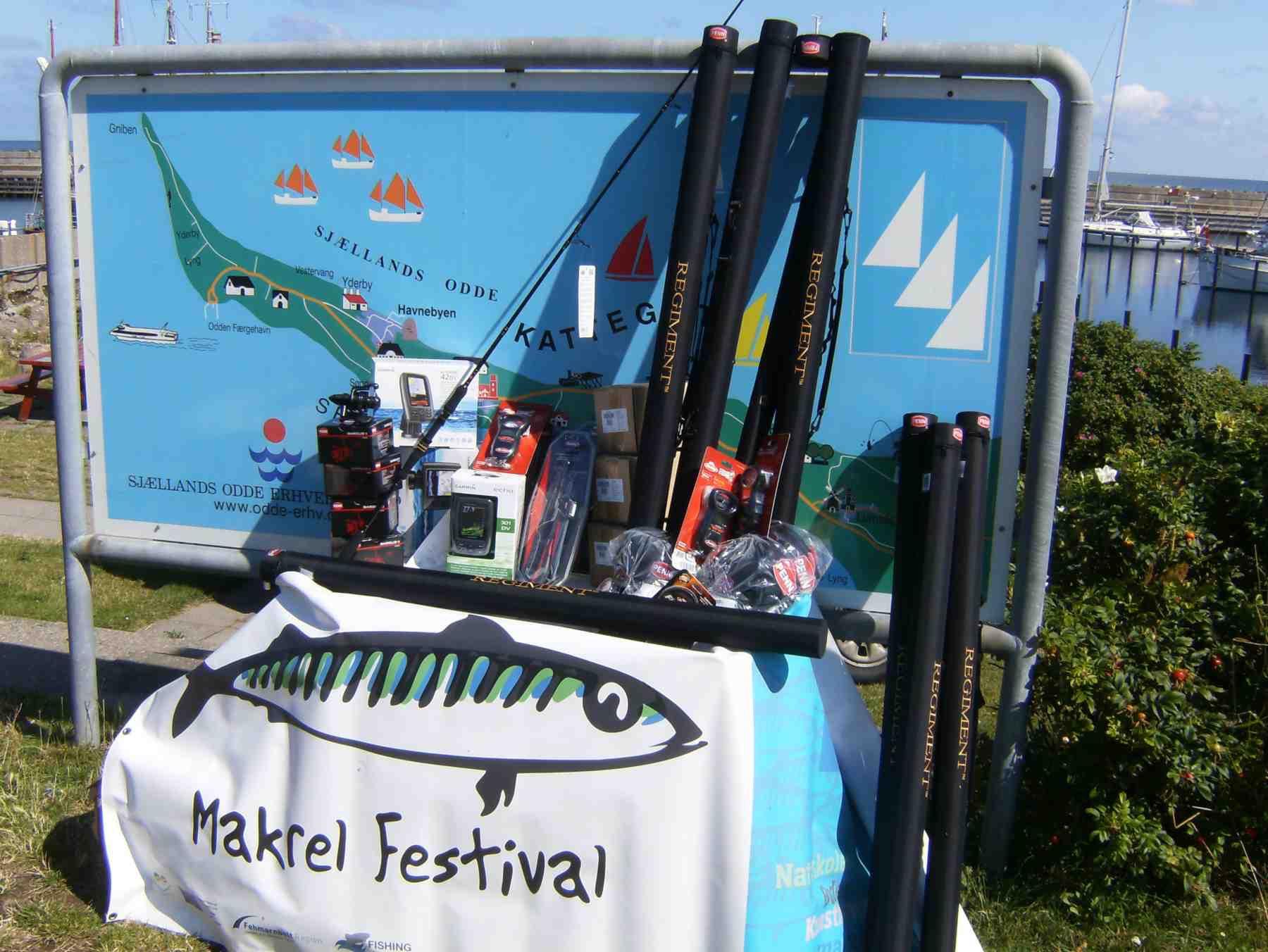 Der er utroligt flotte præmier til dem, der fanger DM i Makrelfiskeris største makreller. Præmierne er sponsoreret af Garmin og Penn.