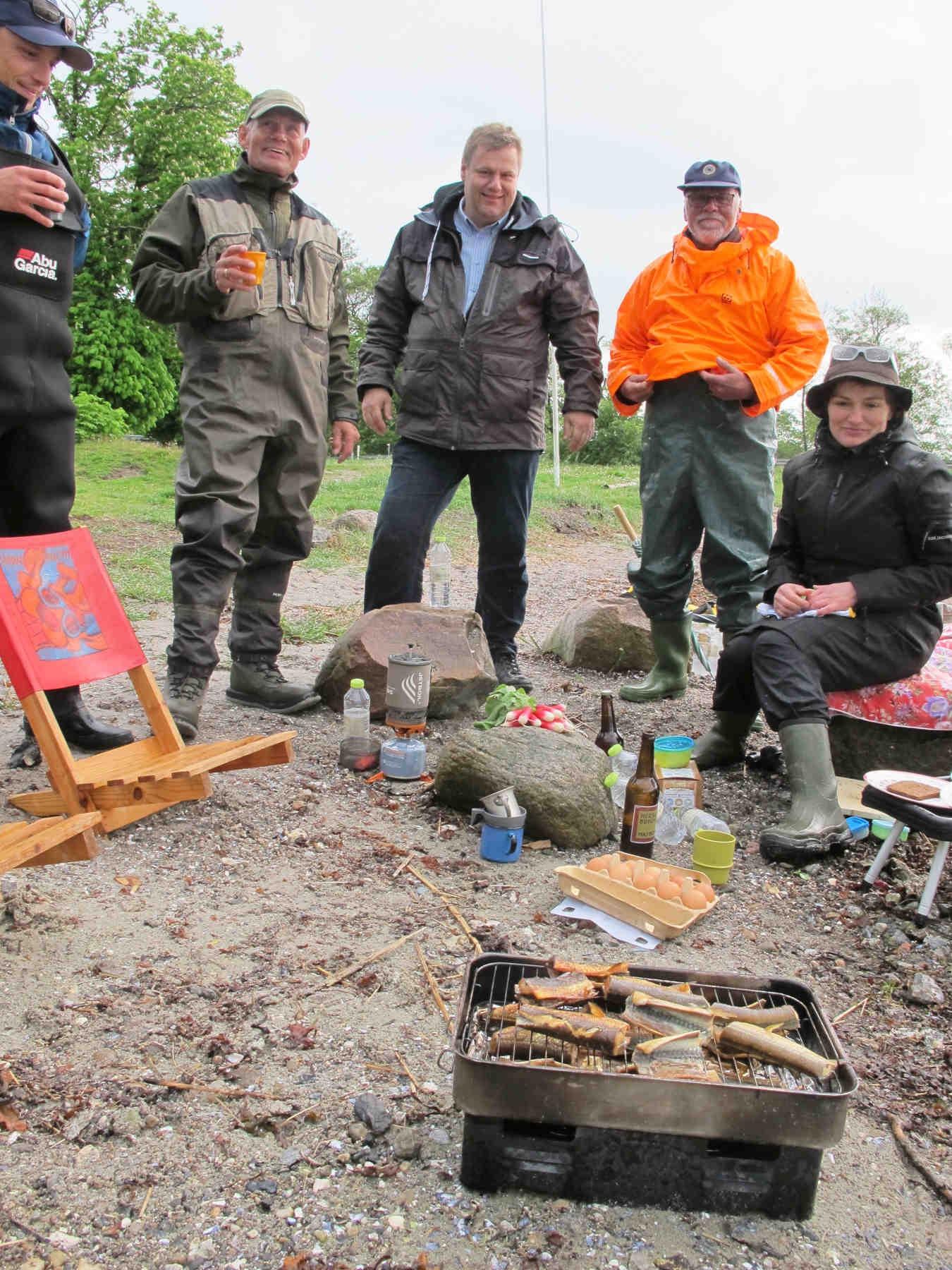 En hyggelig og konstruktiv måde for kommunalbestyrelsen at få indsigt i Fishing Zealand.