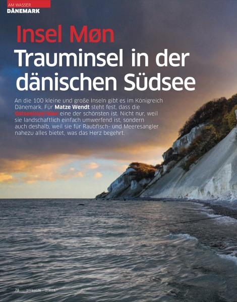 Trauminsel in der dänischen Südsee, Blinker, January 2016