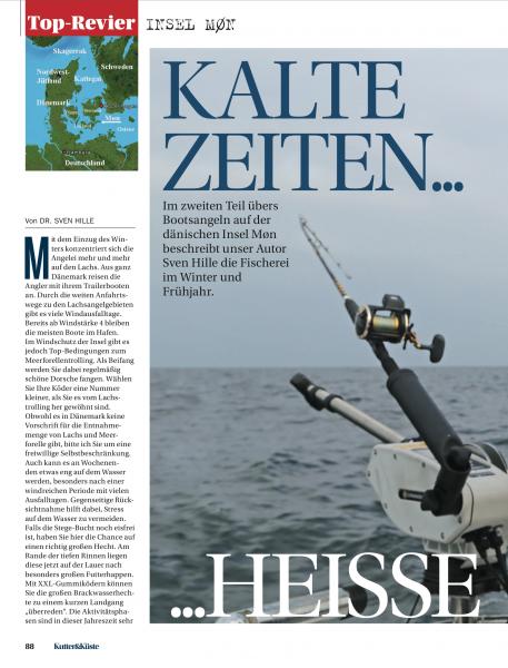 Møn: Kalte Zeiten - Heise Saison, Kutter Und Kuste, August 2015