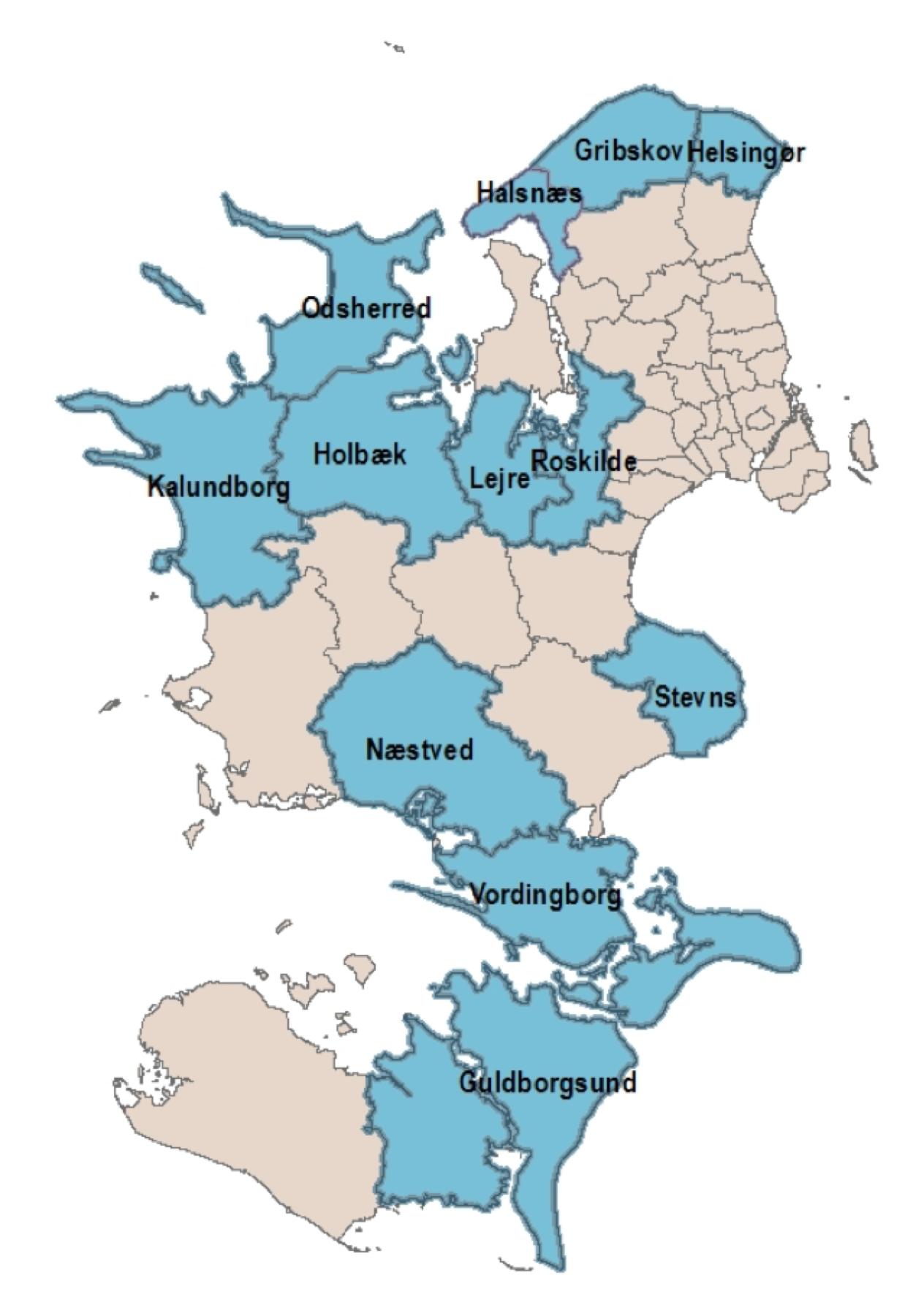 Fishing Zealand Kommuner