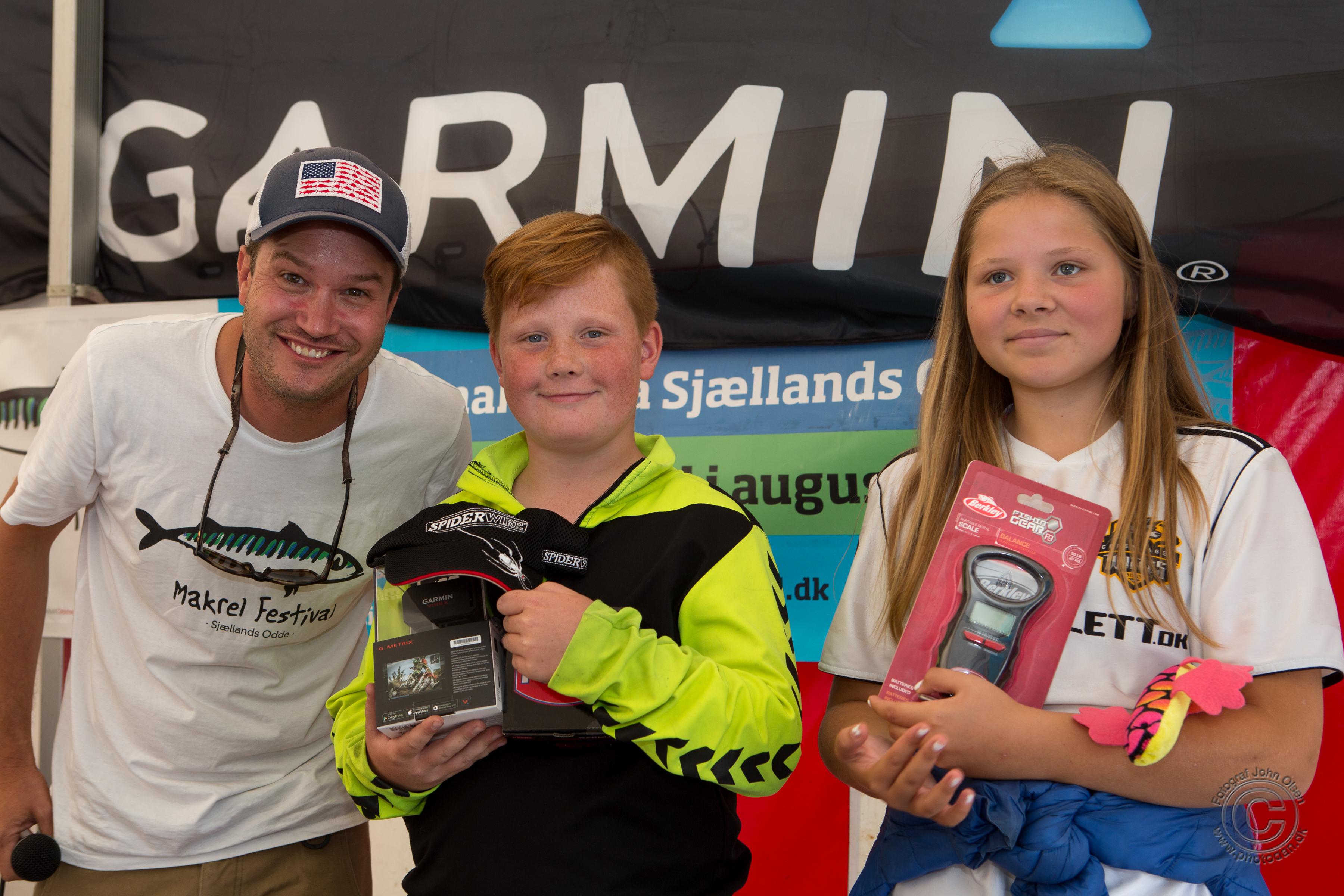 De var gang i de rigtig store makreller til årets Makrel Fiskeri, og selv i ynglinge kategorien var snit størrelsen rigtig pæn. Nicolai Jørgensen vandt kategorien med en fisk på XX gram.