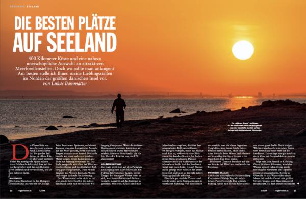 Published in FliegenFischen 1/2018