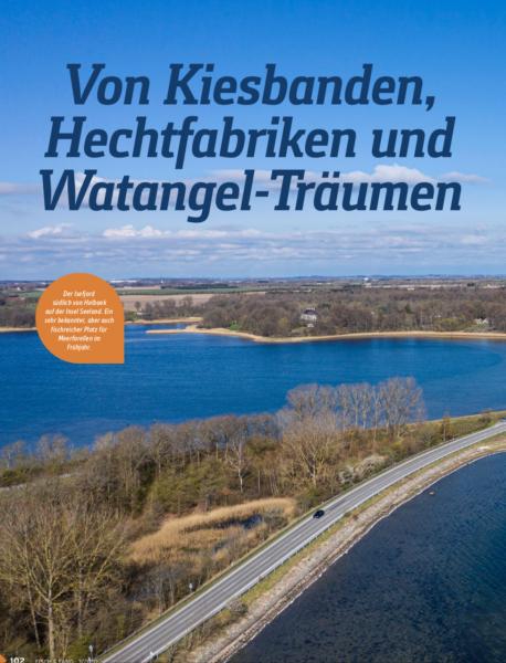 Von Kiesbanden, Hechtfabriken und Watangel-Träumen, Fisch Und Fang 2019